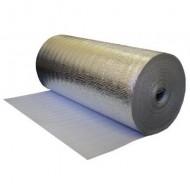 Подложка под ламинат  2мм, 1м*50м металлизированная фото