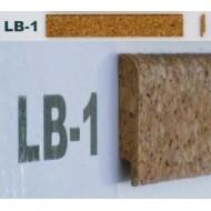 Профіль-закінчення корковий з фаскою LB2 2см*0,9м фото