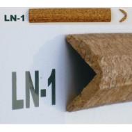 Профіль кутовий корковий, зовн. LN1 2см*2см фото