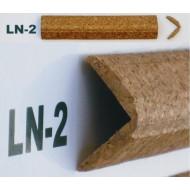 Профіль кутовий корковий, зовн. LN2 3см*3см фото