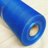 WORKS 145 Сiтка скловолокн. штук. 5*5мм (50 м.кв. в рул.) синя фото