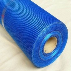 WORKS 145 Сетка стекловолокна. штук. 5 * 5мм (50 м.кв. в рул.) синяя фото